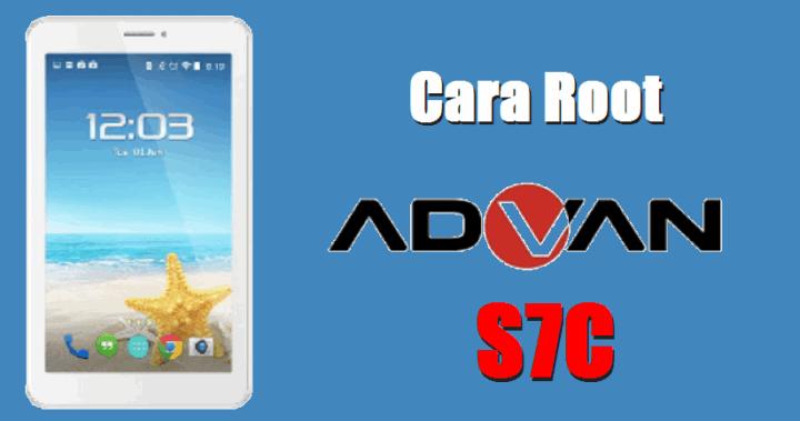 Root Tablet Advan S7C