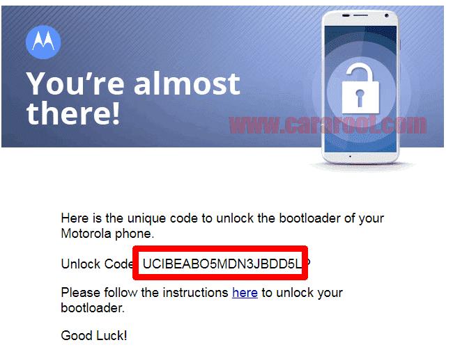 Cara Mudah Unlock Bootloader / UBL Dan Install TWRP Motorola 9