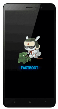 Fastboot Mode Redmi 4A