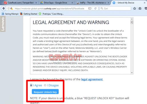 Cara Mudah Unlock Bootloader / UBL Dan Install TWRP Motorola 8