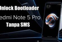 "Cara Unlock Bootloader Xiaomi Redmi Note 5 / Pro ""Whyred"" 4"