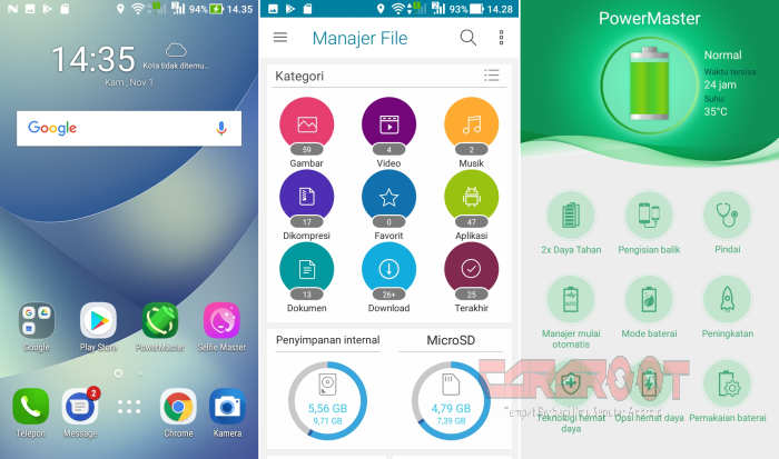 ROM ZenUI Android Nougat Redmi 5A (Riva) 2