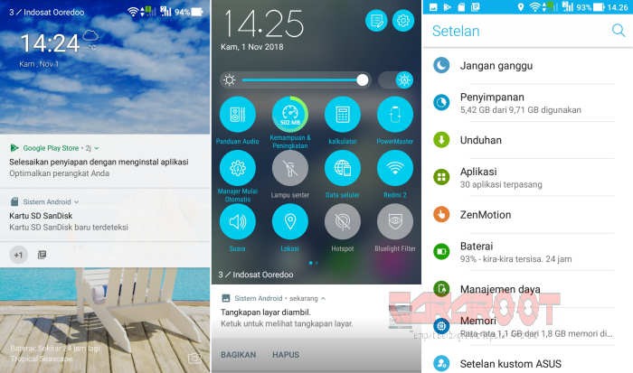 ROM ZenUI Android Nougat Redmi 5A (Riva) 1