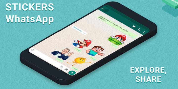 Gambar Cara Membuat / Menambah Stiker Whatsapp Sendiri di Android 1