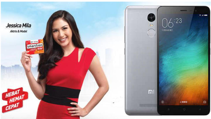 Smartfren internet unlimited Redmi Note 3