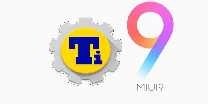 Titanium Backup MIUI 9
