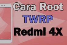 """Cara Mudah Root Dan Install TWRP Xiaomi Redmi 4X """"Santoni"""" 4"""