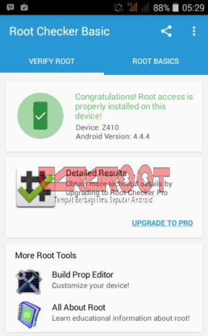 Root Checker Acer Z410