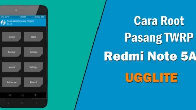 cara root twrp redmi note 5a