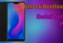 "Cara Unlock Bootloader / UBL Xiaomi Redmi Note 6 PRO ""TULIP"" 10"