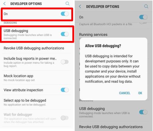 Cara Mengaktifkan USB Debugging Serta OEM Unlock Di Samsung 4