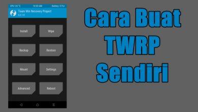 Cara Membuat TWRP Recovery Sendiri via Porting Dengan PC 9