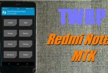"""Cara Install TWRP Di Xiaomi Redmi Note 3 MTK (Mediatek) """"Hennessy"""" MIUI 7 / 8 / 9 1"""