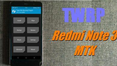 """Cara Install TWRP Di Xiaomi Redmi Note 3 MTK (Mediatek) """"Hennessy"""" MIUI 7 / 8 / 9 7"""