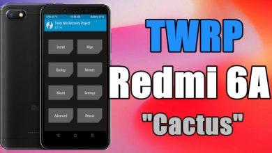 """Cara Pasang / Install TWRP Xiaomi Redmi 6A """"Cactus"""" Android Oreo 5"""
