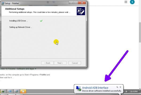 USB Drivers Sukses Terinstall Di PC