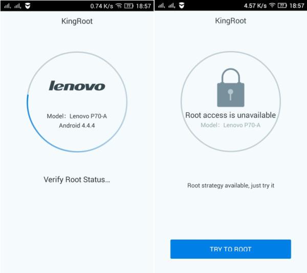 Cara Mudah Root Lenovo P70 Android Kitkat Dan Lollipop Tanpa PC 1
