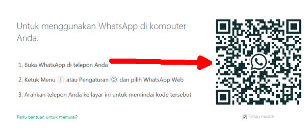 2 Cara Menggunakan Whatsapp Di PC dan Laptop Windows 7 / 8 / 10 1