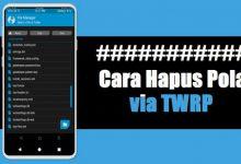 Cara Menghapus Pola / Sandi / PIN HP Lewat TWRP Tanpa Kehilangan Data 6