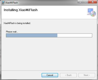 Installing Mi Flash Xiaomi
