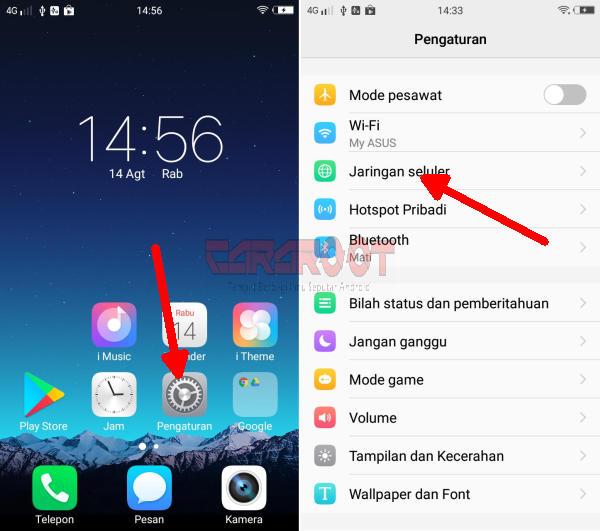 Cara Menggunakan Smartfren 4G Di HP Vivo 2