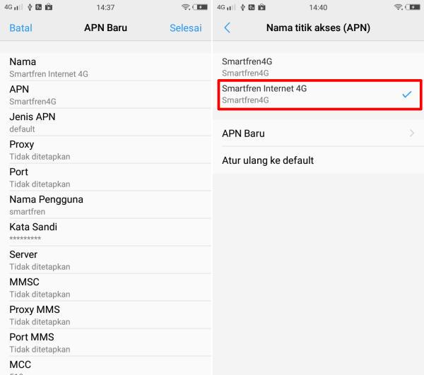 Cara Menggunakan Smartfren 4G Di HP Vivo 4
