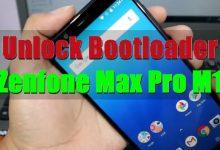 Cara Unlock Bootloader ASUS Zenfone Max Pro M1 Android Oreo dan Pie 5