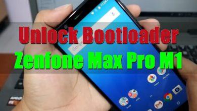 Gambar Cara Unlock Bootloader ASUS Zenfone Max Pro M1 Android Oreo dan Pie 9