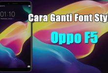 Gambar Cara Mengganti Font Oppo F5 dan F5 Youth 5