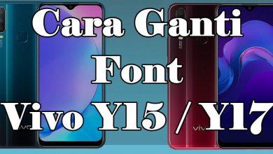 Cara Menambah Font Berwarna Di HP Vivo Y15 Dan Y17 7