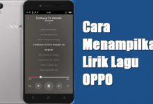 Gambar Cara Menambahkan Lirik Lagu Di Pemutar Musik OPPO 6