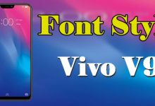 Gambar Cara Menambah dan Mengganti Font Vivo V9 3