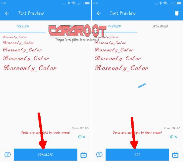Download Aplikasi Font Khusus Untuk Xiaomi Tanpa Root 2