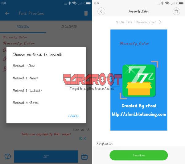 Download Aplikasi Font Khusus Untuk Xiaomi Tanpa Root 3