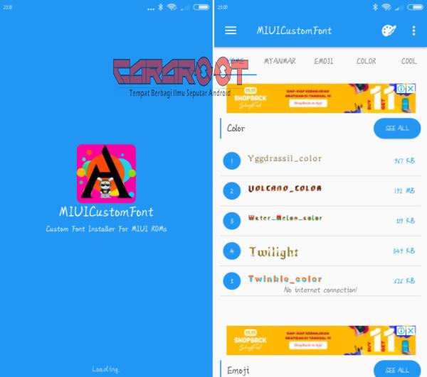 Download Aplikasi Font Khusus Untuk Xiaomi Tanpa Root 1