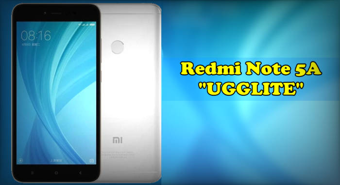 ROM Recovery MIUI Global / China Stable Redmi Note 5A (UGGLITE) 1