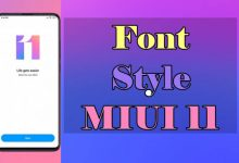 Cara Mengganti Font MIUI 11