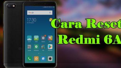 Cara Hard dan Factory Reset Xiaomi Redmi 6A 1