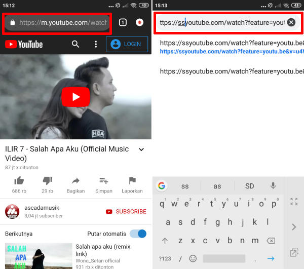 edit url youtube