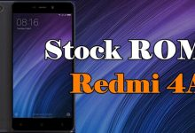 Stock ROM Xiaomi Redmi 4A MIUI 10 / 9 / 8 Global dan China Stable 8