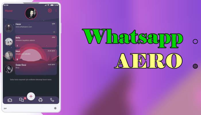 Whatsapp Mod Aero