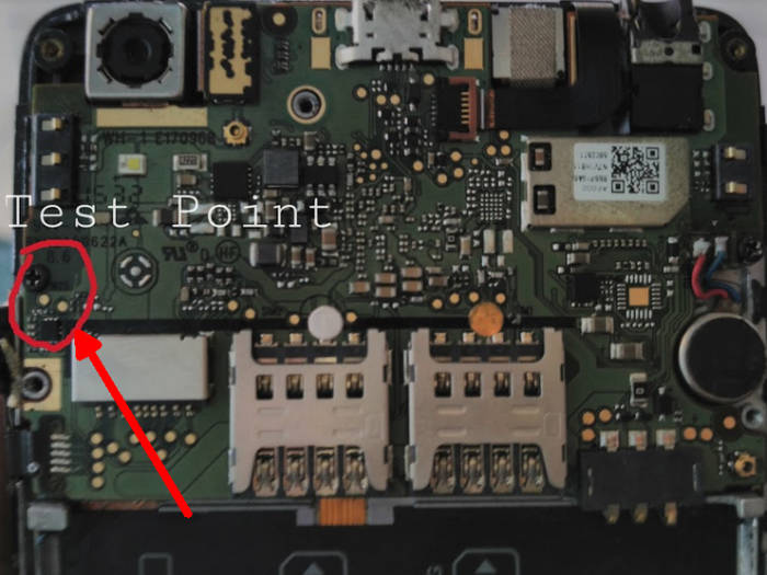 Titik Test Point Lenovo A6000