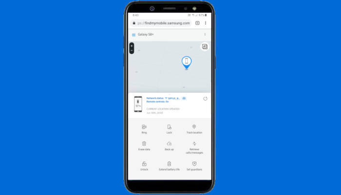 Cara Reset Dengan Samsung Find Phone