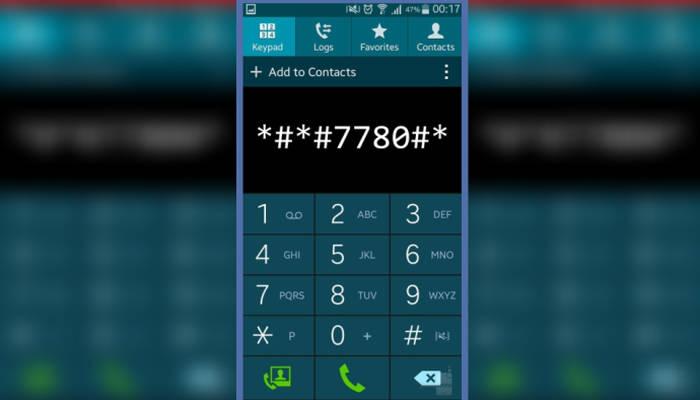Cara Reset Samsung Dengan Kode
