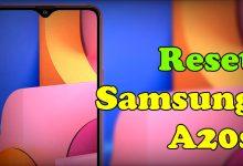Cara Reset Samsung Galaxy A20s