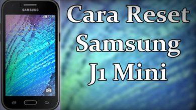 Cara Reset Samsung J1 Mini Prime