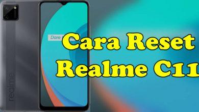Cara Reset Realme C11 C12 C15