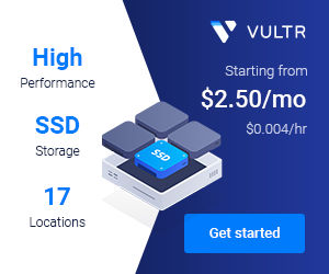 VPS by vultr
