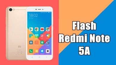 Cara Flash Redmi Note 5A Ugglite