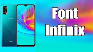 Cara Mengganti Font Infinix